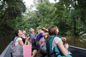Cuyabeno Wildlife Reserve Excursion in canoe